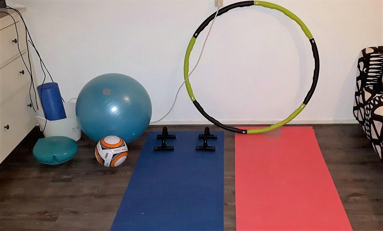 Sportschool in huis